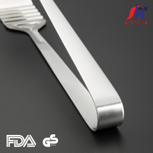 China manufacturer stainless steel food tongs