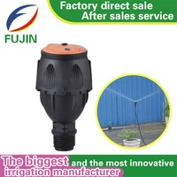 plastic material high pressure lawn sprinkler for cooling tower and garden