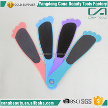 Wholesale nail supplies beautiful microplane pedicure foot file / foot skin care
