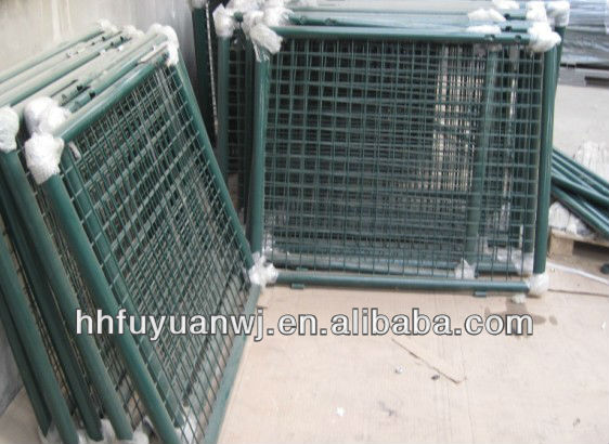 solid metal fence panel gate