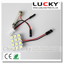LED car reading lamp PCB 12 SMD 5050 Auto interior dome light