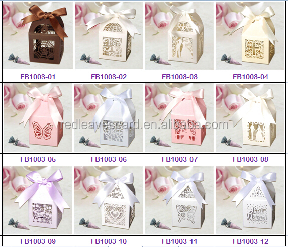 Colorful empty candy boxes birdcage wedding favor boxes factory wholesale