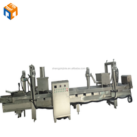 continuous frozen french fries,potato chips frying machine price