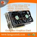 OEM NVIDIA GeForce GTX760 4GB GDDR5 2DVI/HDMII/DisplayPort PCI-Express Graphics Video Card