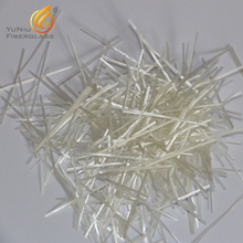 High quality AR glass fiber chopped strand For reinforced concrete