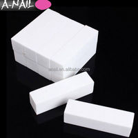 Best quality wholesale 4 Way White Nail Buffer File Buffing Sanding Files Customized Grit Nail Art Buffer Block for Nail
