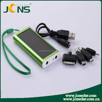 2015 latest portable solar mobile travel solar cell phone charger