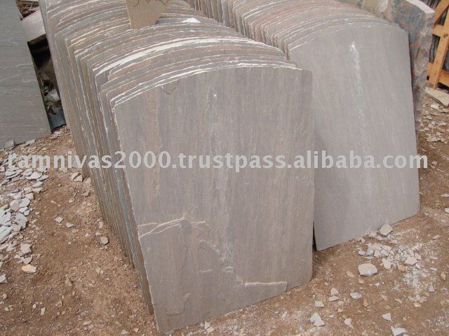 Autmn Brown Sandstone Roofing Material