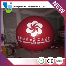 Cheap Customized Hot Air Balloon Price , Giant Inflatable Heart Balloon