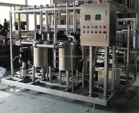 milk plate pasteurizer and homogenizer used