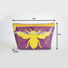 Factory special design fashion cosmetic pvc bag