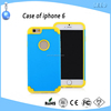 PC+Silicone mobile phone cases for iPhone 6