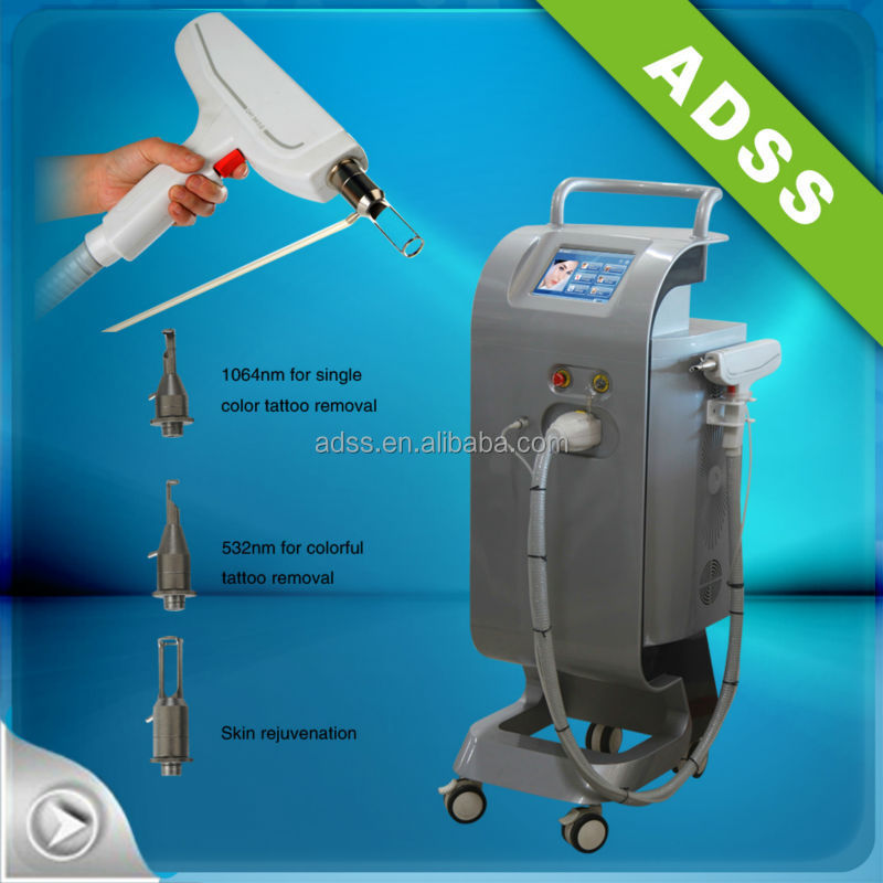 professioanal salon use ND YAG laser pigment sun spot removal rejuvenation FG009 equipment for body therapy