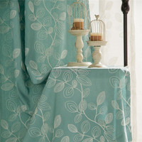 China supplier fancy curtain designs embroidery curtain with tulle