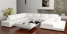 A1110 Top Quality Best Price White color Italy Leather Sofa