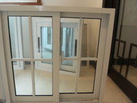 middle east Standard Aluminum Glass Sliding Window simple design pictures aluminum window and door