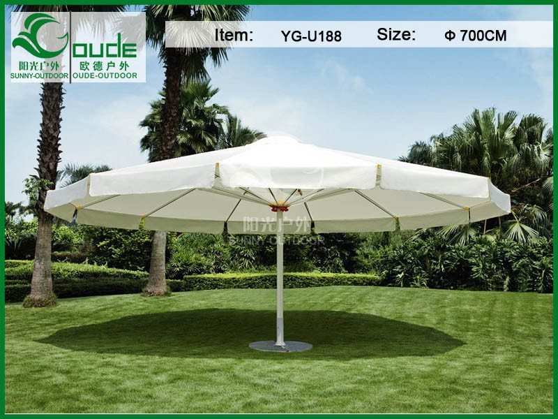 6m big round patio umbrella