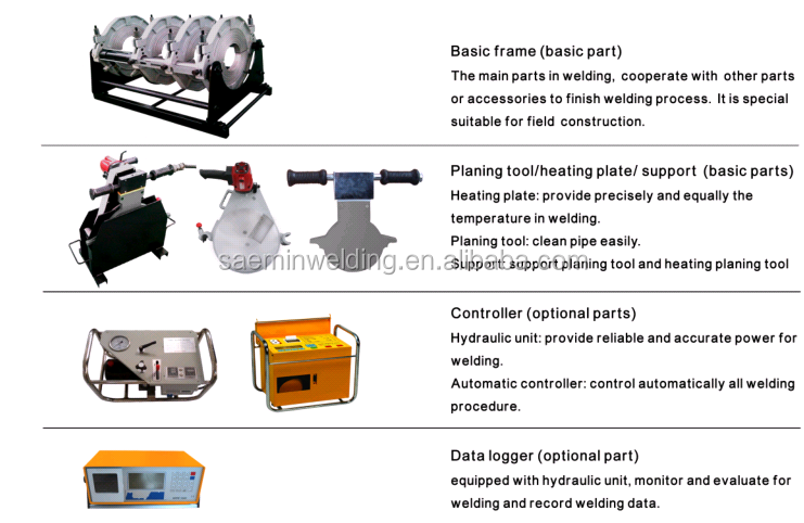 355 hydraylice welding machine equipment