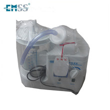 Portable phlegm suction unit/ operation use blood suction machine