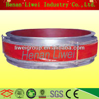 round fabric duct joint