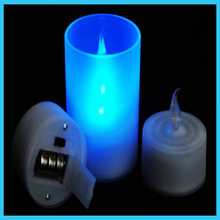 led candle water fountain 10CM candle