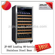 Loading 80-bottle Wooden Wine Holder As Old Refrigerator Brands (JF-80T)