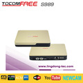 Cheapest DVB--S2 Satellite receiver Tocomfree S989 with SKS, IKS free for south America