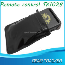 mobile phone call tracking device TK102B GPS car tracker device for global vehicle tracking