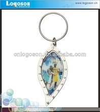 customized photo basketball promotional items key chains holder