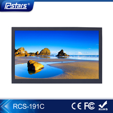 19 inch lcd elevator digital signage with Motion Sensor; narrow frame lcd digital pos display(RCS-190C)
