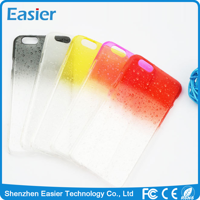 EK042 Clear Water Drops PC Mobile Phone Case for iPhone6/6s iPhone6/6s Plus