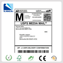 PayPal a4 shipping label! 2014 High quality adhesive paypal shipping label free frommanufacturer China