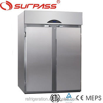 G2100L2F Surpass commercial Stainless Steel Roll-in Chiller/fruit refrigerator