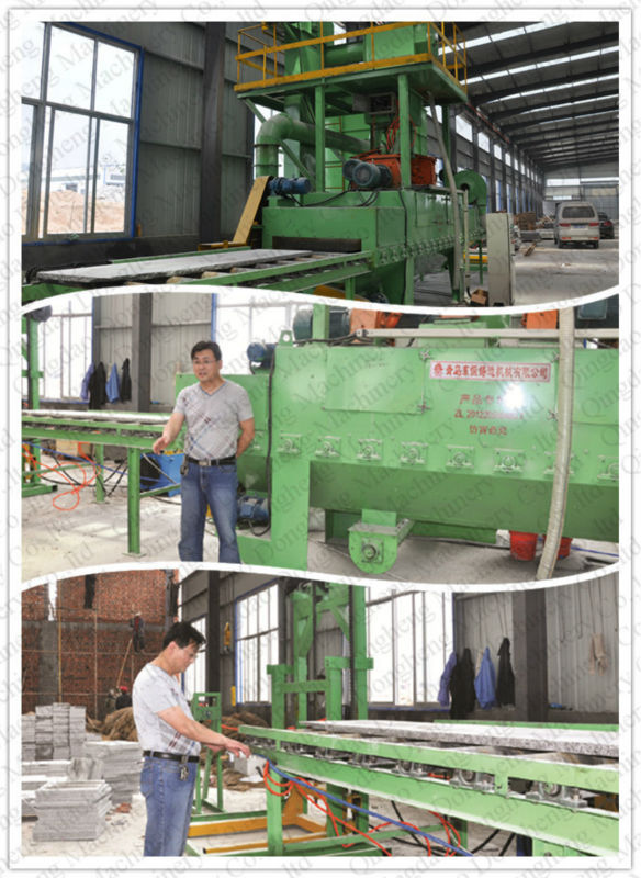 Shot Blasting Machines For Stone, Concrete And Aggregate