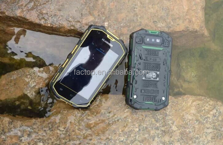 Waterproof Android 4.2.2 MTK6572 Dual Core GPS Bluetooth 4inch H5 Phone