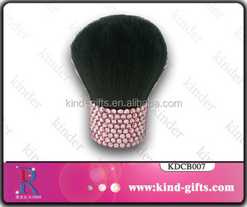 Custom personalized hot selling bling bling cute pink style shining rhinestone makeup brush