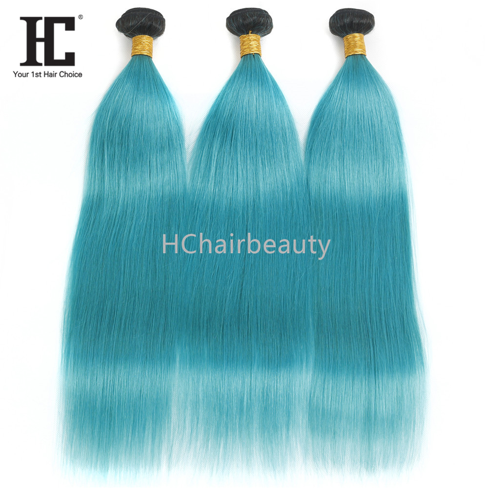 2019 New Popular Super Quality Pure Sky Blue Cuticle Aligned Hair Weave Bundle