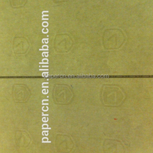 security thread security anti-fake visible fiber watermark embossed paper in guangzhou factory