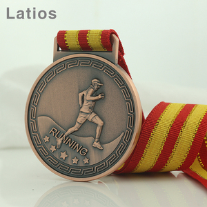 Special custom badge designs plastic miraculous die casting custom gymnastics award medals