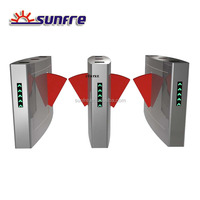 Access control flap barrier, Access Barrier, Flap Barrier Turnstile Gate