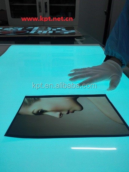 Long life super thin largest animation EL panel el sheet, car sticker raw material technology