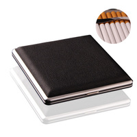 20pcs Cigarette Case With Luxury Leather
