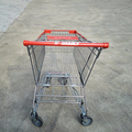 125 Litre supermarket shopping trolley cart from Changshu factory