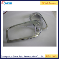 Auto Chromed Front Lamp cover For Toyota RAV4 2001 Lighting Accessories head light cover
