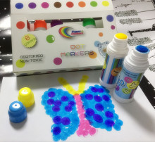 High quality dot markers, watercolor paint set 24 colors CH2828 Children art set
