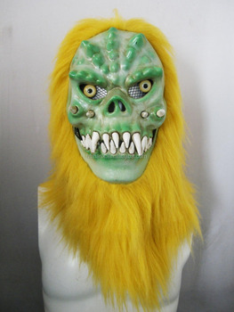 Moving Mouth Person Mask for Holloween Party - Monster006