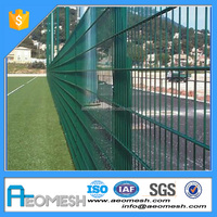 Welded Wire Mesh Metal High Security Apartment Garden Backyard Fence