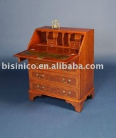 color red living room cabinet with drawers | solid wood carving chest with drawers B400093