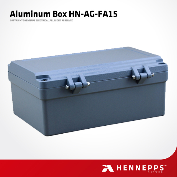 CE High Strength Waterproof IP66 Aluminium Rectangular Box