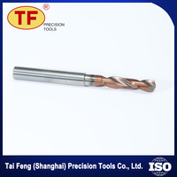 Wholesale 4Flute Straight Shank Tungsten Carbide HSS Drill